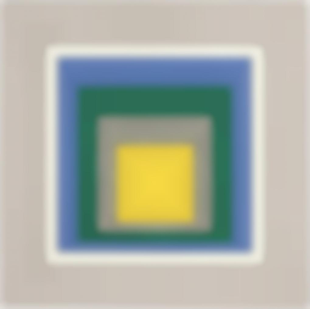 Josef Albers-Homage To The Square: Open D-1951