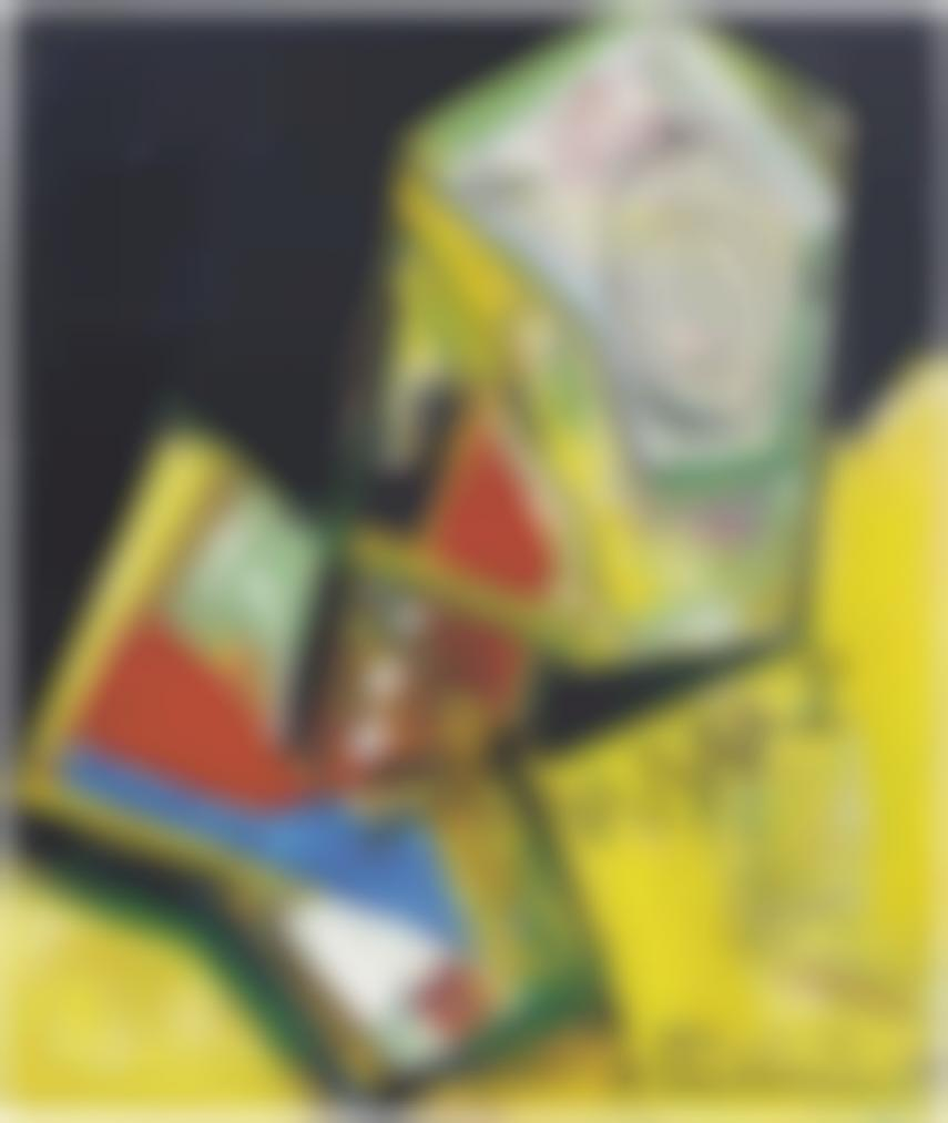 Hans Hofmann-Interpenetration-1951