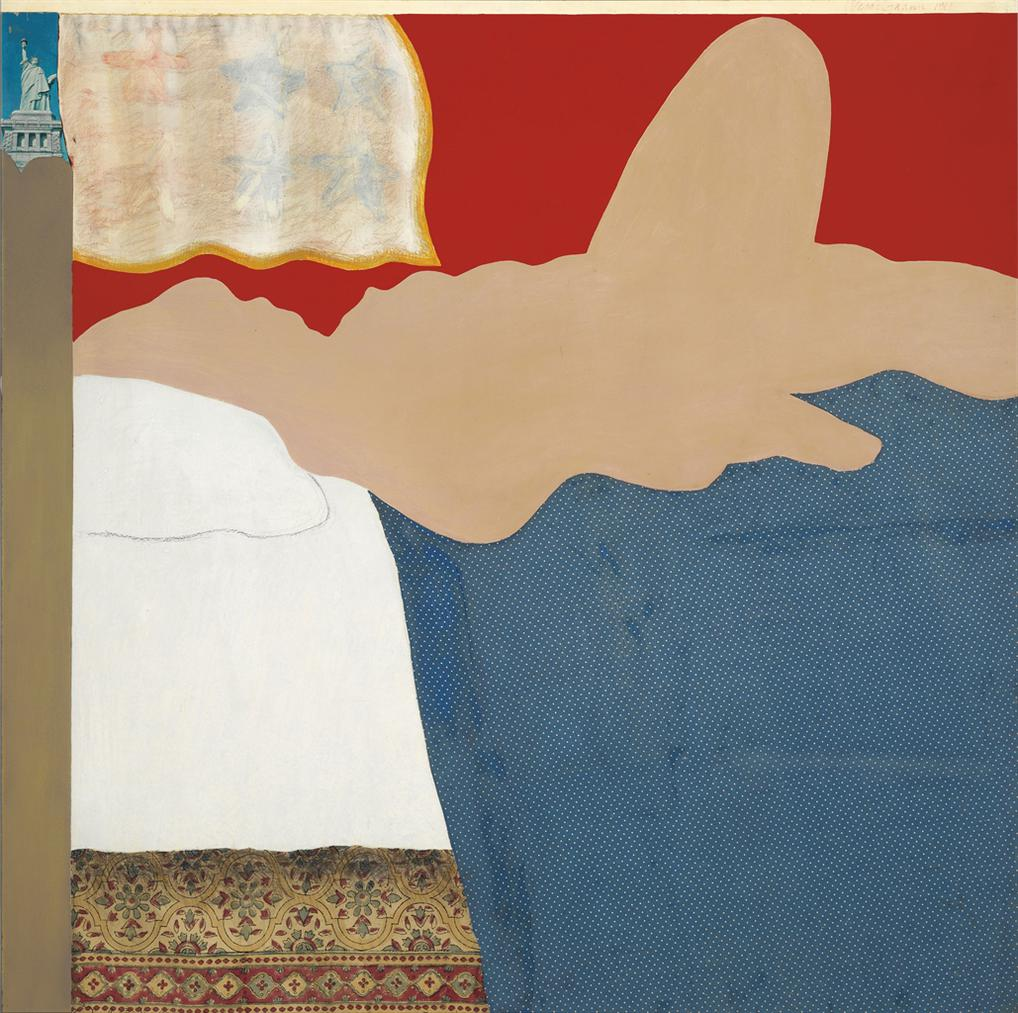 Tom Wesselmann-The Great American Nude #13-1961