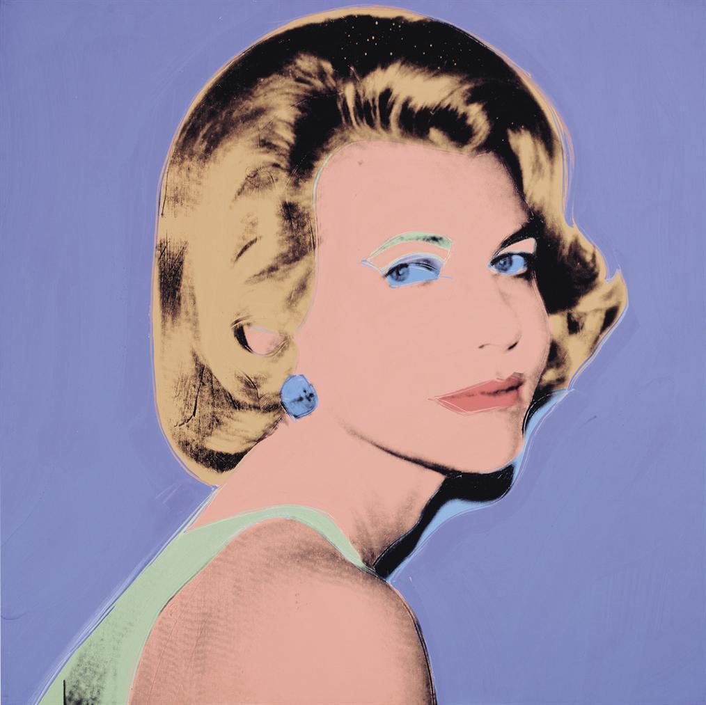 Andy Warhol-Kay Fortson (An American Lady)-1976