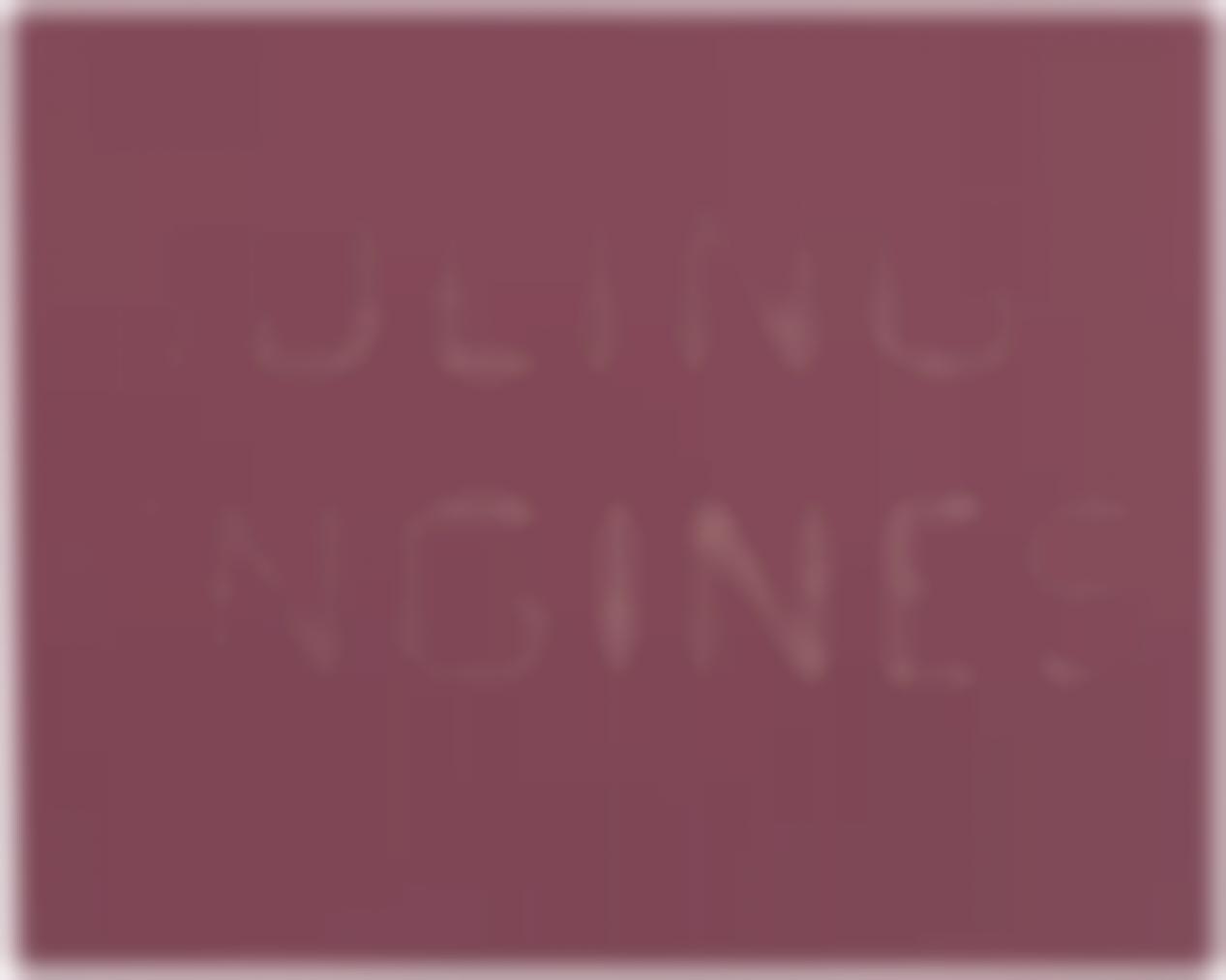Ed Ruscha-Idling Engines-2012