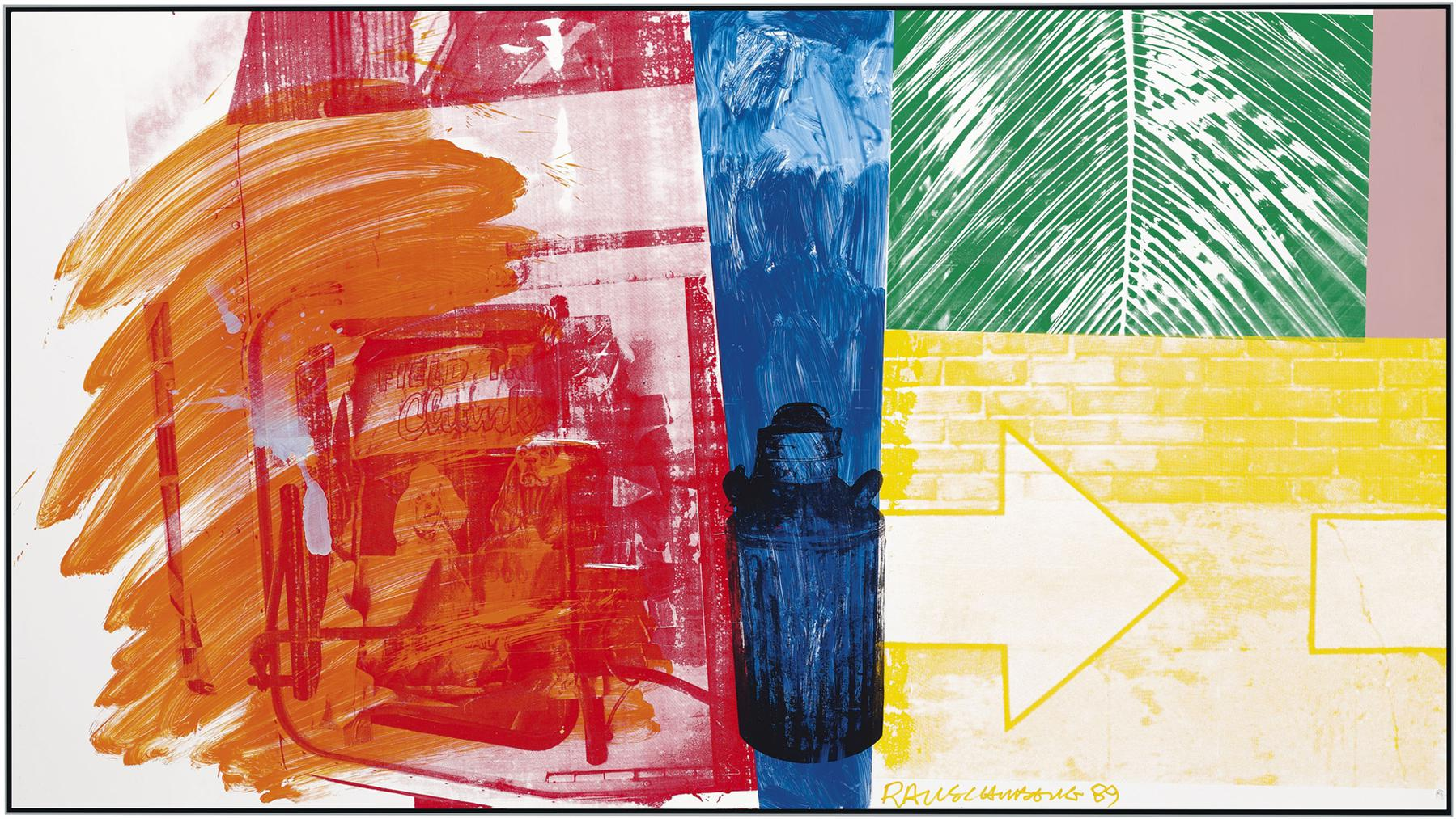 Robert Rauschenberg-Untitled (Urban Bourbon)-1989