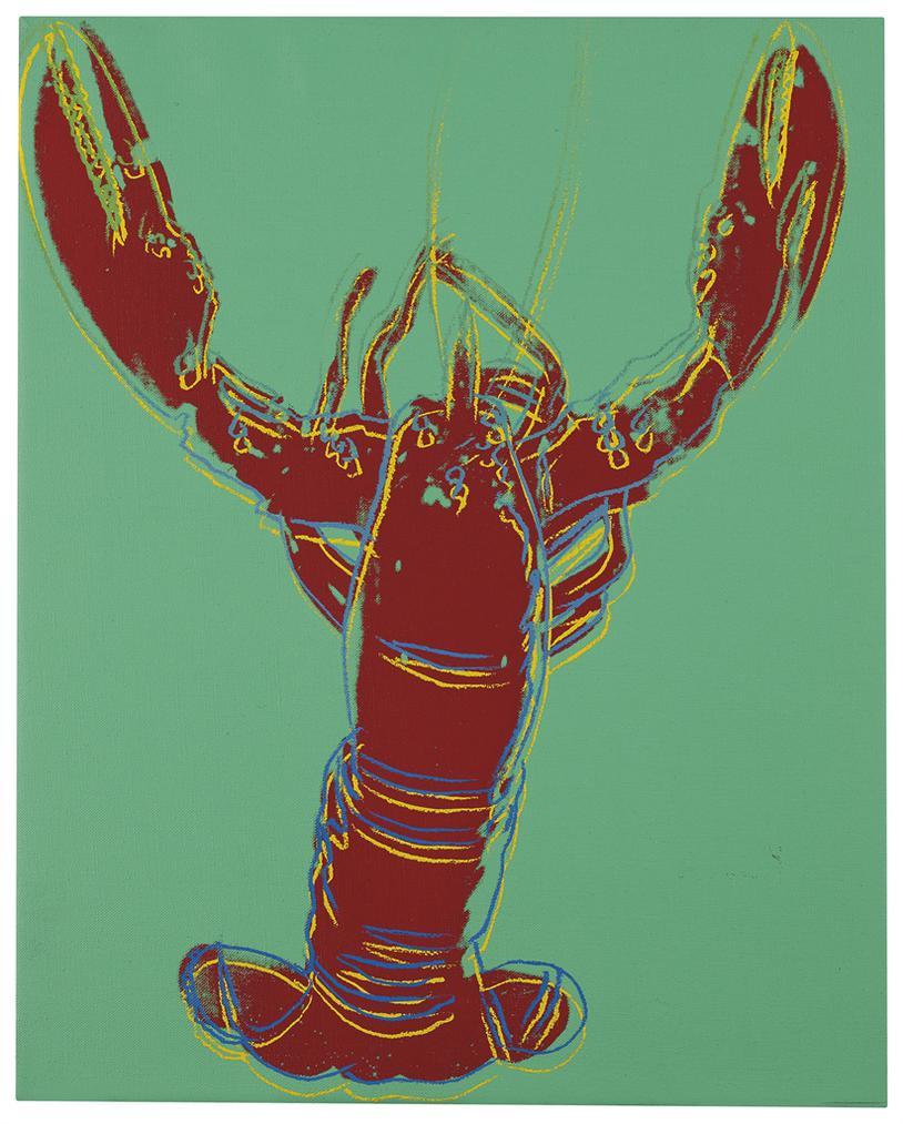 Andy Warhol-Lobster-1982