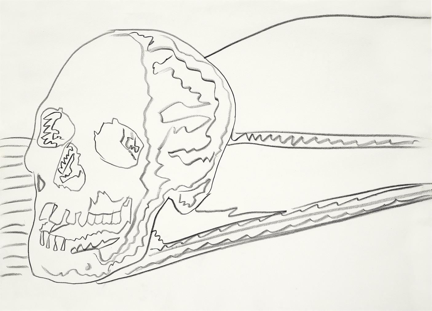 Andy Warhol-Skull-1976