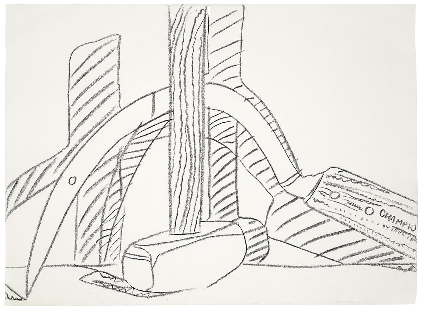 Andy Warhol-Still Life (Hammer And Sickle)-1977