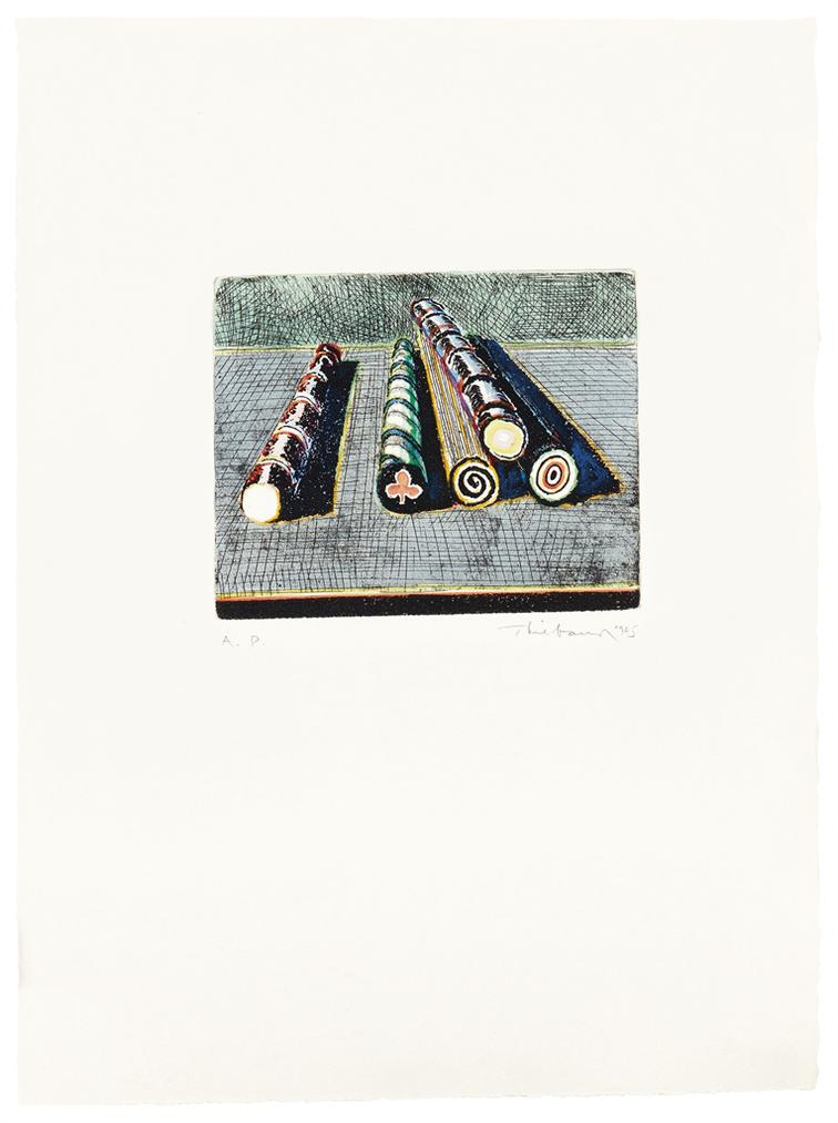 Wayne Thiebaud-Stick Candy-1965