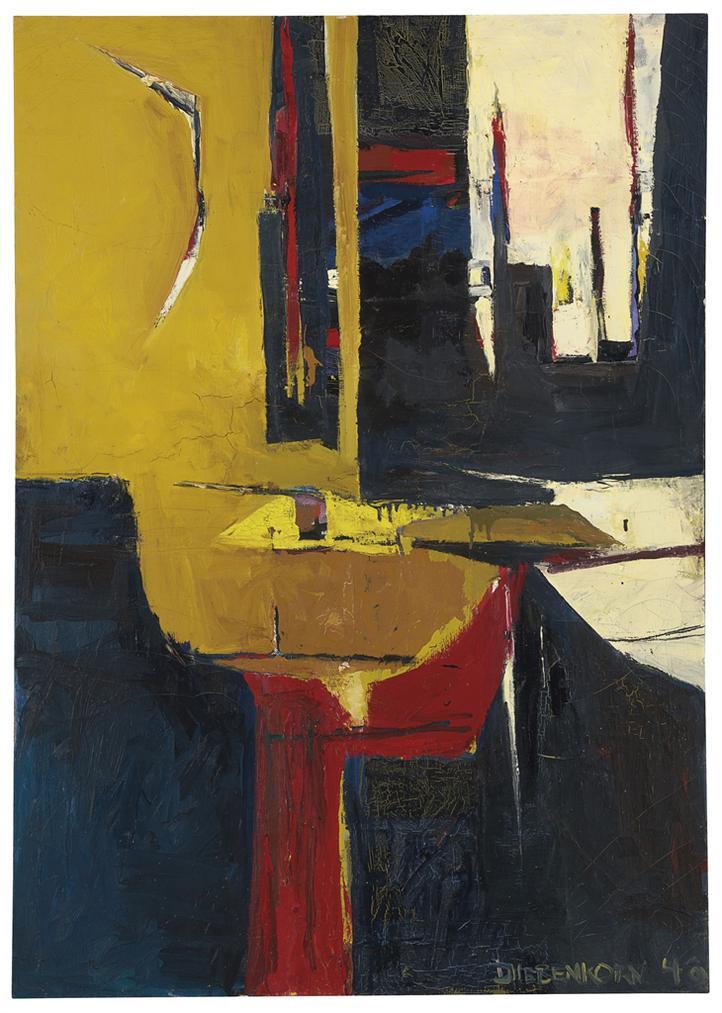 Richard Diebenkorn-Untitled #6-1948