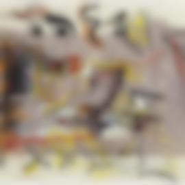 Jackson Pollock-Abstract Painting-1943