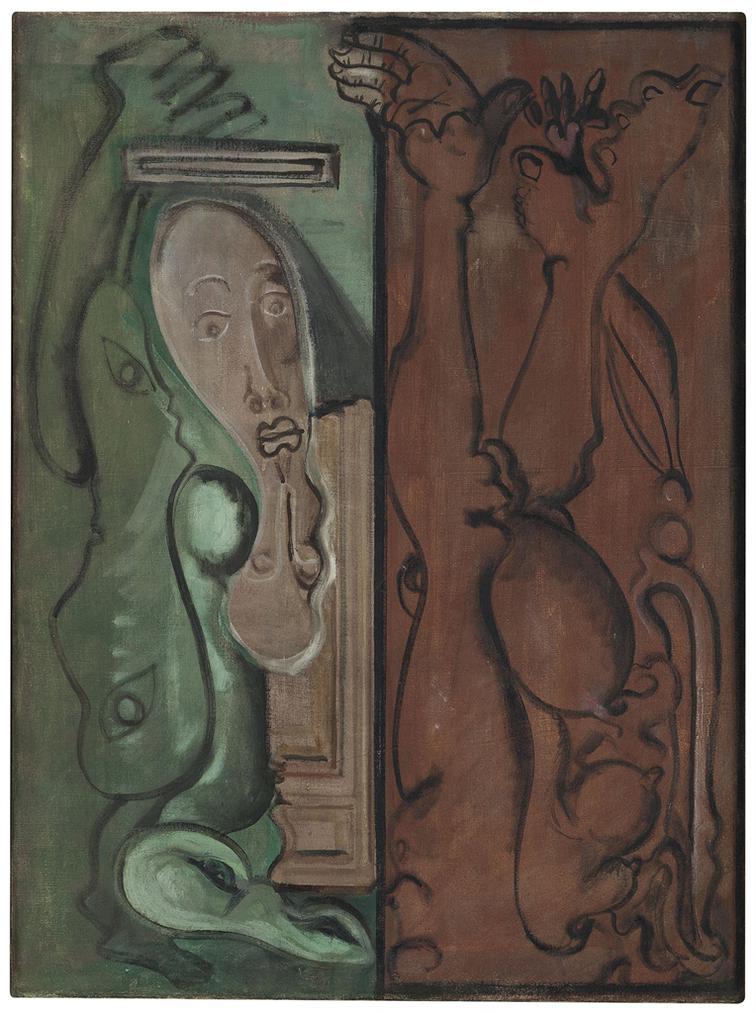 Mark Rothko-In Limbo-1942