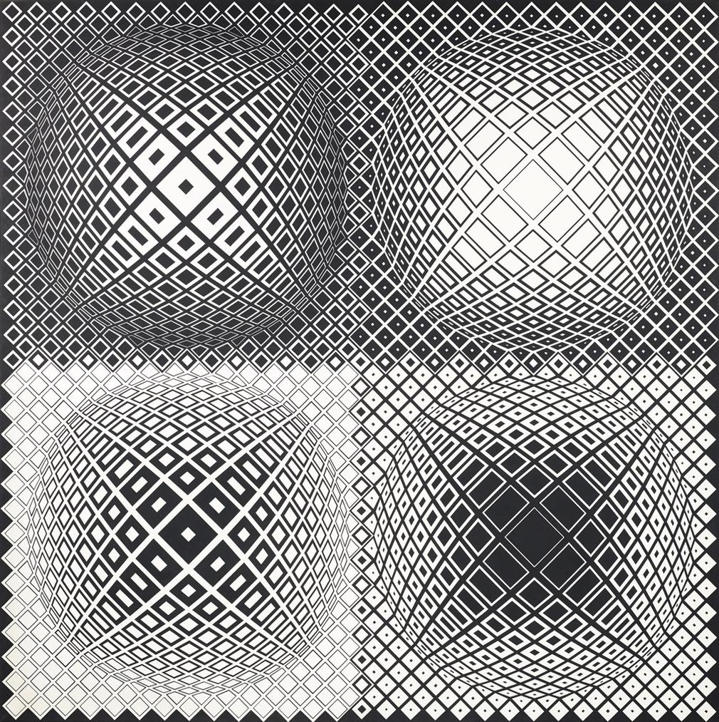 Victor Vasarely-Lang-1979