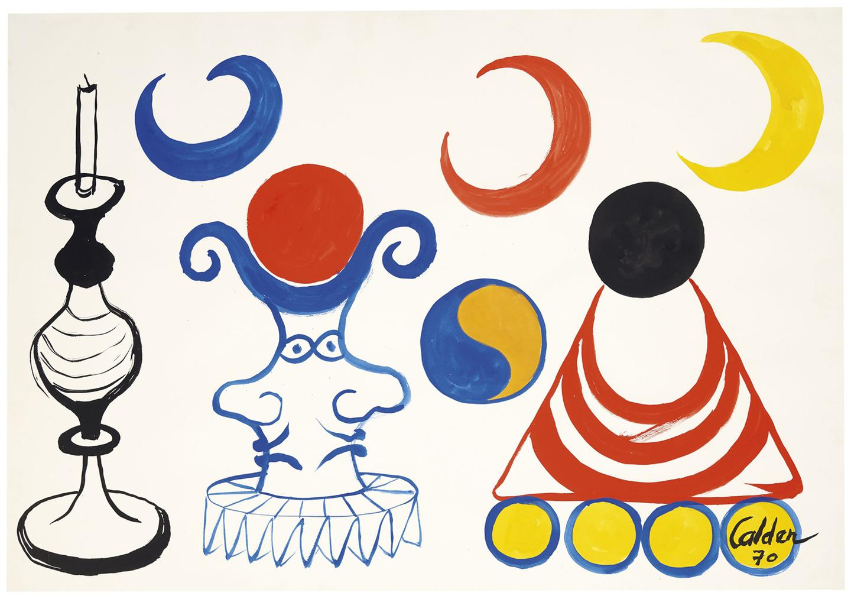 Alexander Calder-La Lampe Daladin-1970
