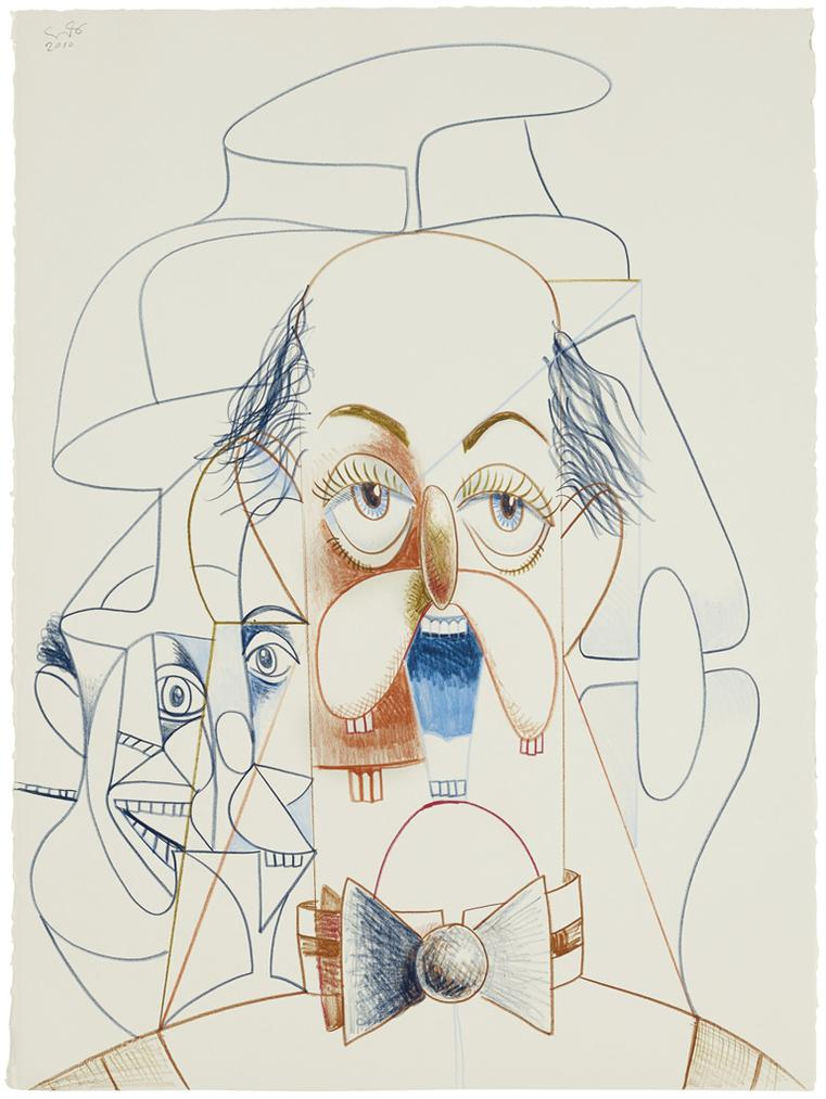 George Condo-Untitled (Banker)-2010