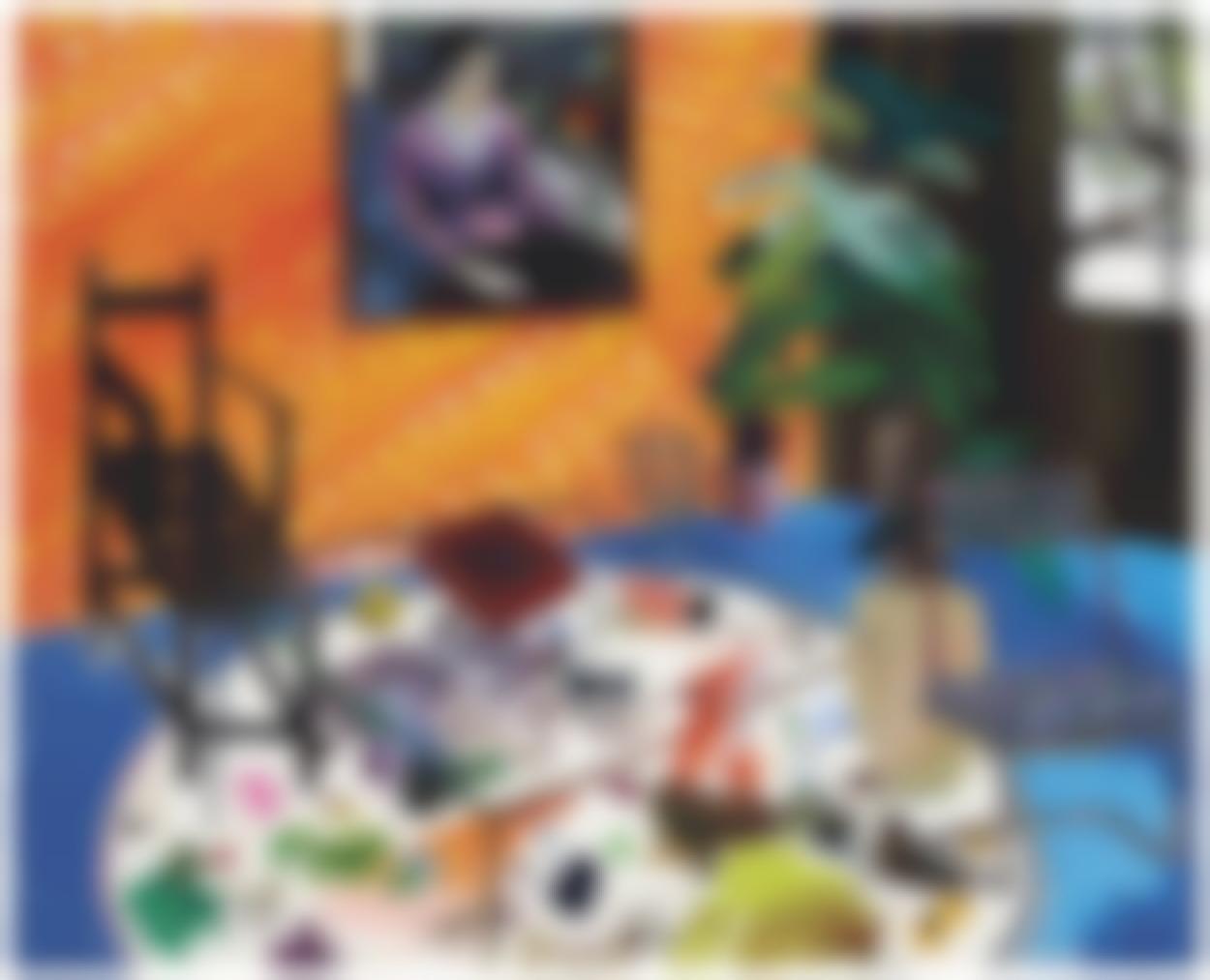Shara Hughes-Make Me A Palette On The Floor-2008