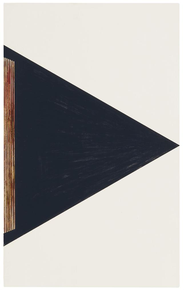 R.H. Quaytman-Conical Wedge Caption-2011