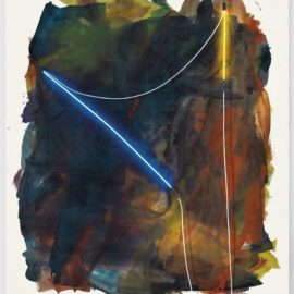Mary Weatherford-Pico Rivera-2013