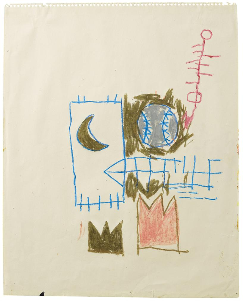 Jean-Michel Basquiat-Untitled-1981
