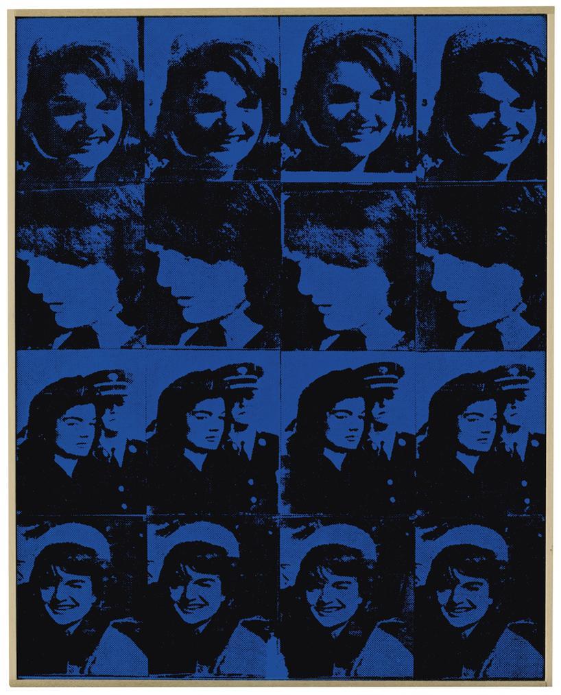 Richard Pettibone-Andy Warhol, Sixteen Jackies, 1964-1996