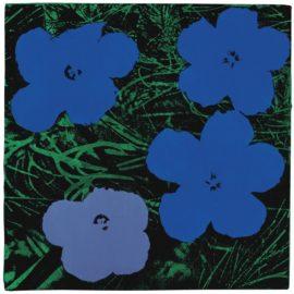 Elaine Sturtevant-Study For Warhol Flowers-1965