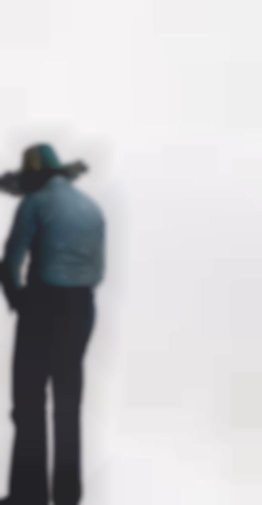 Michelangelo Pistoletto-Uomo Dal Cappello Giallo E Verde (Man With A Yellow And Green Hat)-1973