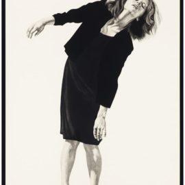 Robert Longo-Untitled (Gretchen)-1980
