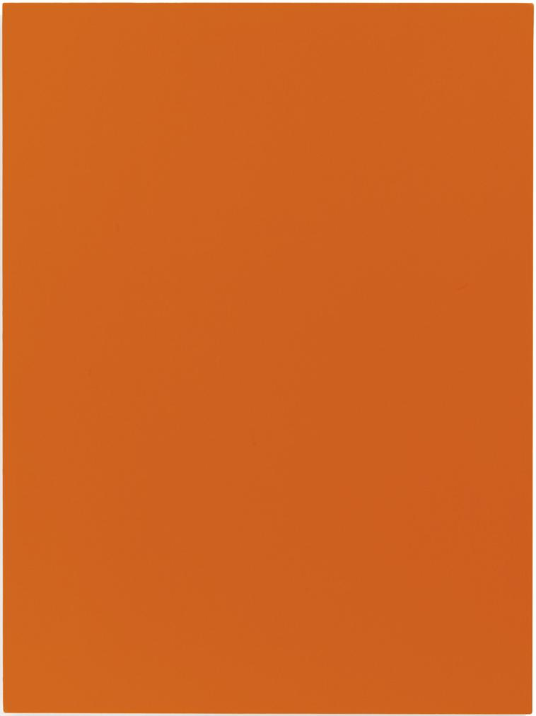 Sherrie Levine-Melt Down (After Yves Klein: Orange)-1991