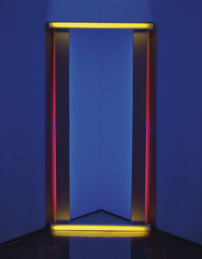 Dan Flavin-Untitled (To Barnett Newman) Two-1971