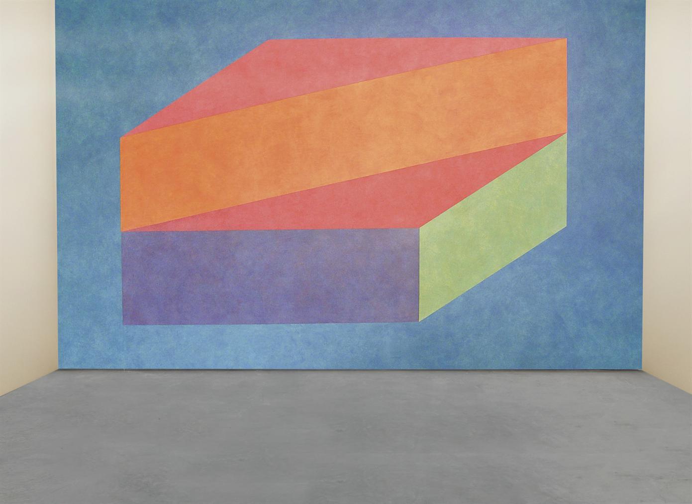 Sol LeWitt-Wall Drawing #606 K-2000