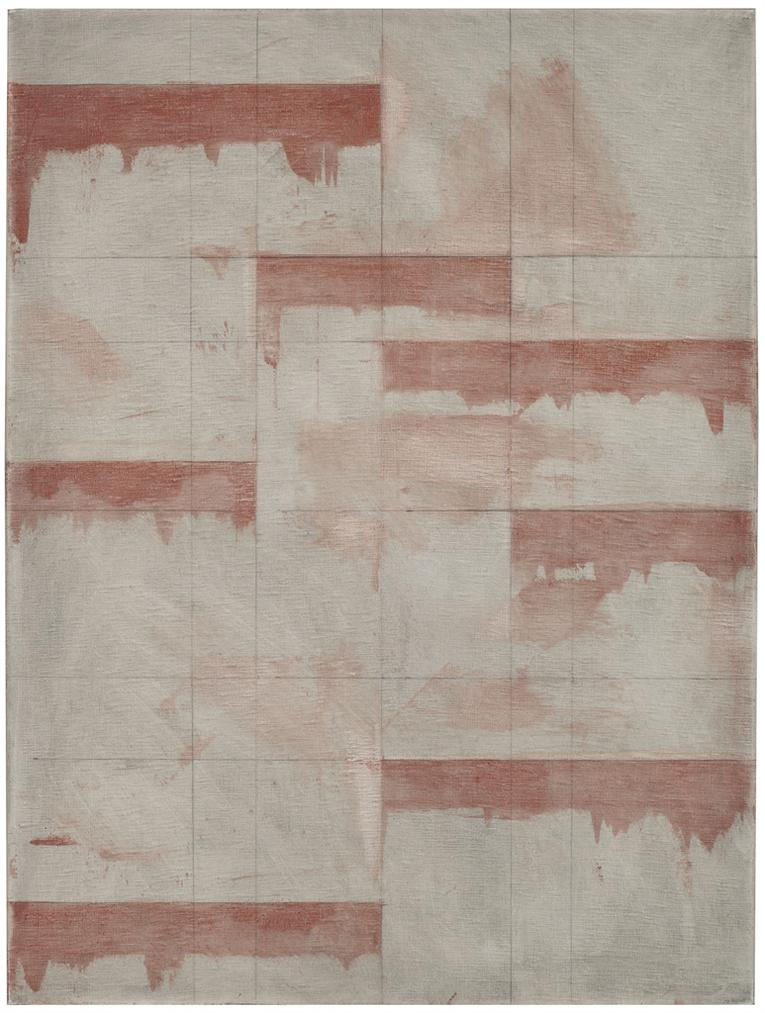 Brice Marden-Red Window Study-1985