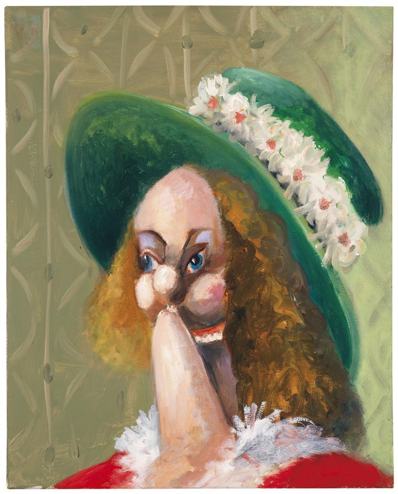 George Condo-Femme Au Chapeau-2007