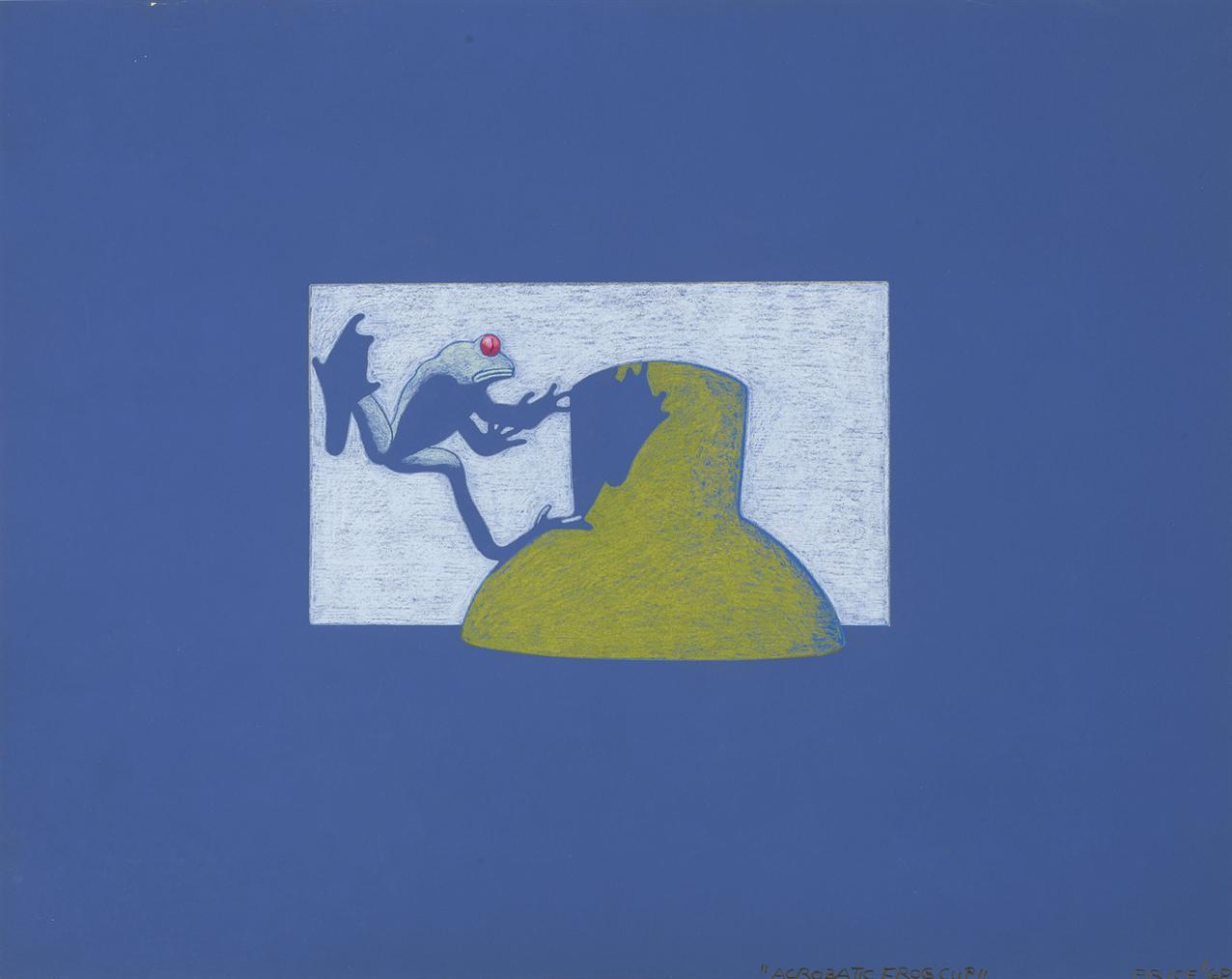 Ken Price-Acrobatic Frog Cup-1968