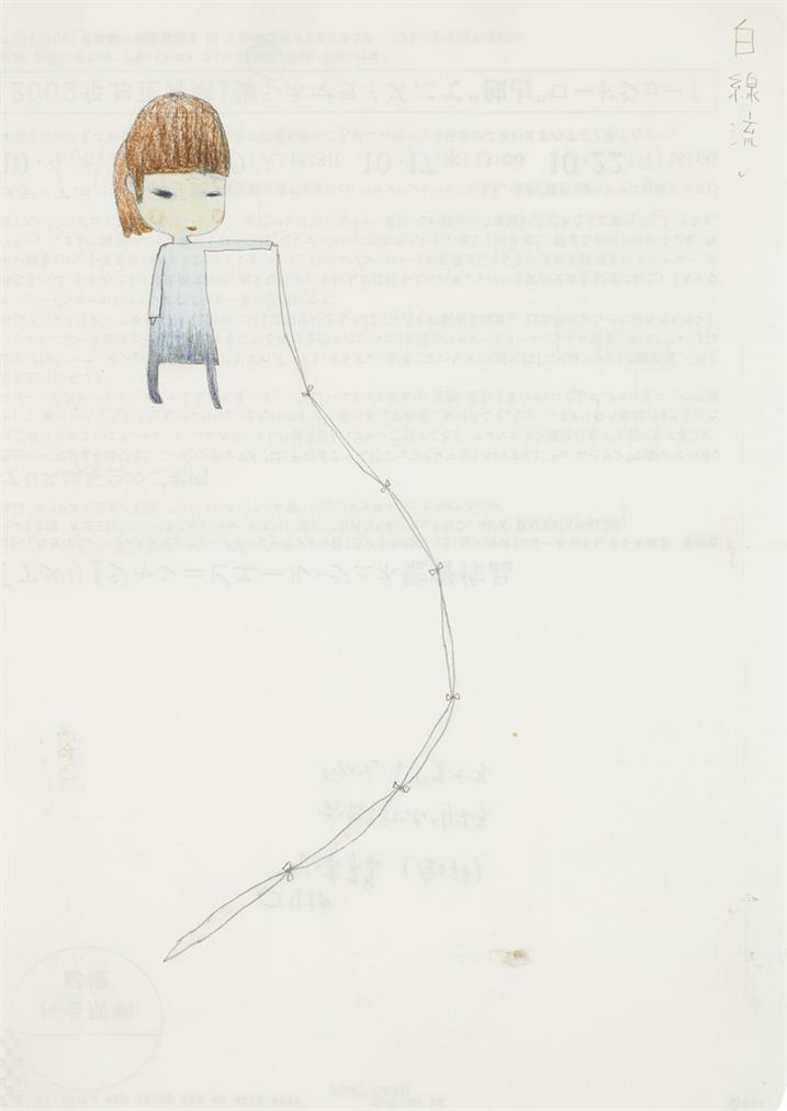 Yoshitomo Nara-Untitled (Who Snatched The Babies)-2002