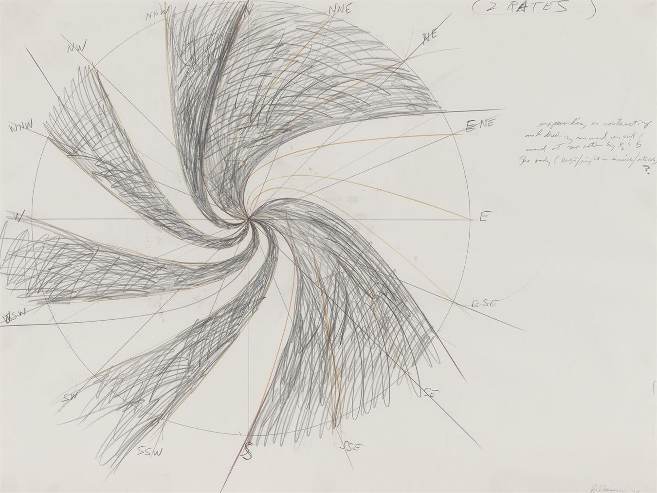 Bruce Nauman-Untitled (2 Rates)-1974