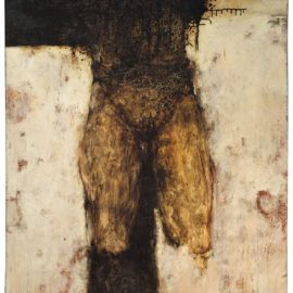 Bruce Conner-Crucifxion-1957