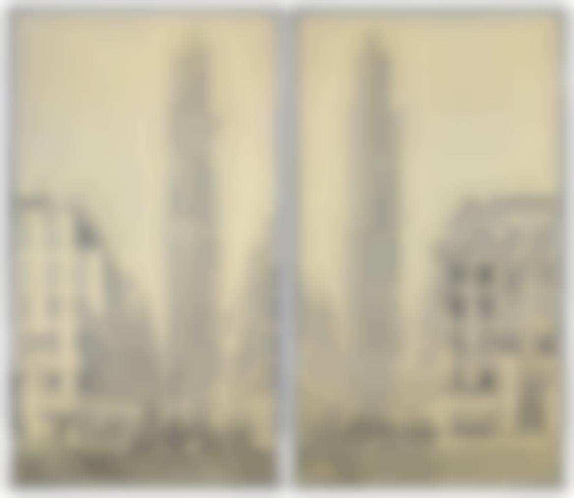 Richard Artschwager-Double Rca Towers-1972