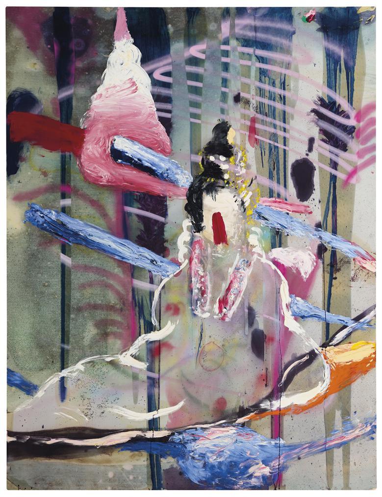 Julian Schnabel-Untitled (Chinese)-2010