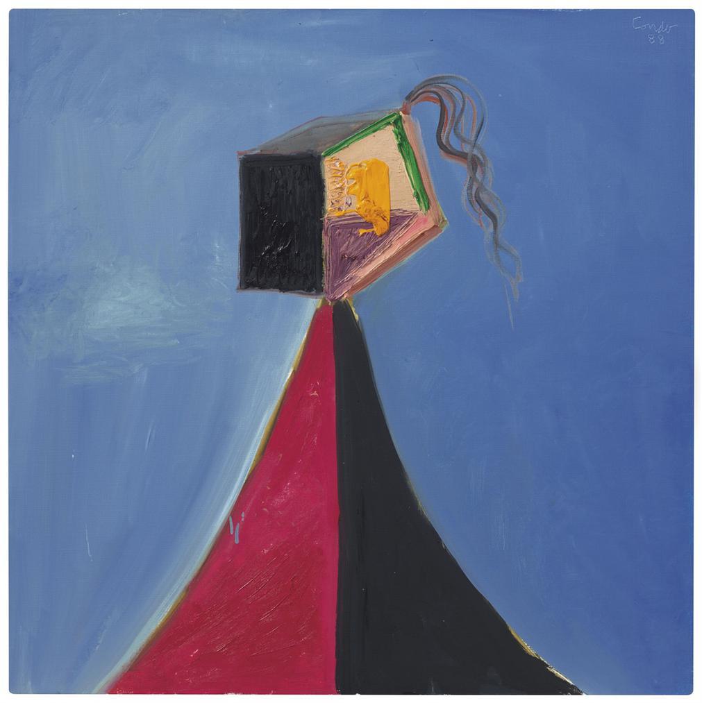 George Condo-Carols Head-1989