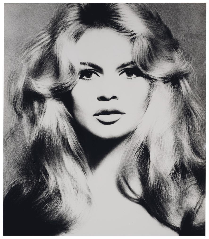 Richard Avedon-Brigitte Bardot, Hair By Alexandre, Paris Studio, Paris, France, January 1959-1959