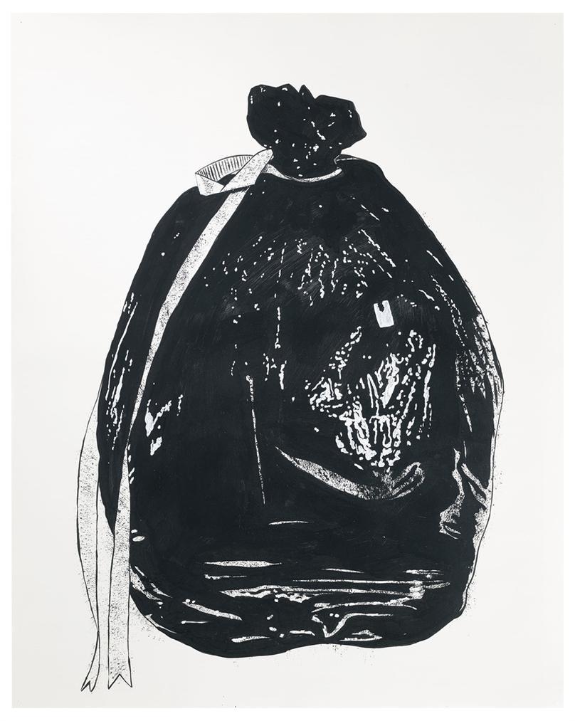 Mike Kelley-Garbage Bag 2-1989