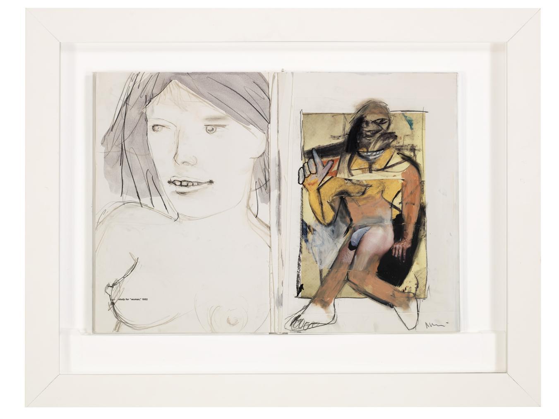 Richard Prince-Untitled (De Kooning Book)-2006