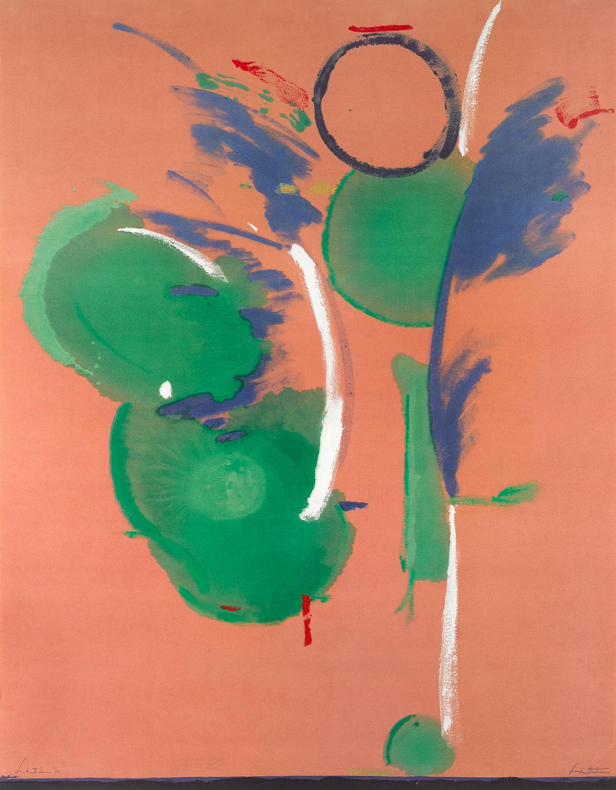 Helen Frankenthaler-Mary, Mary-1987