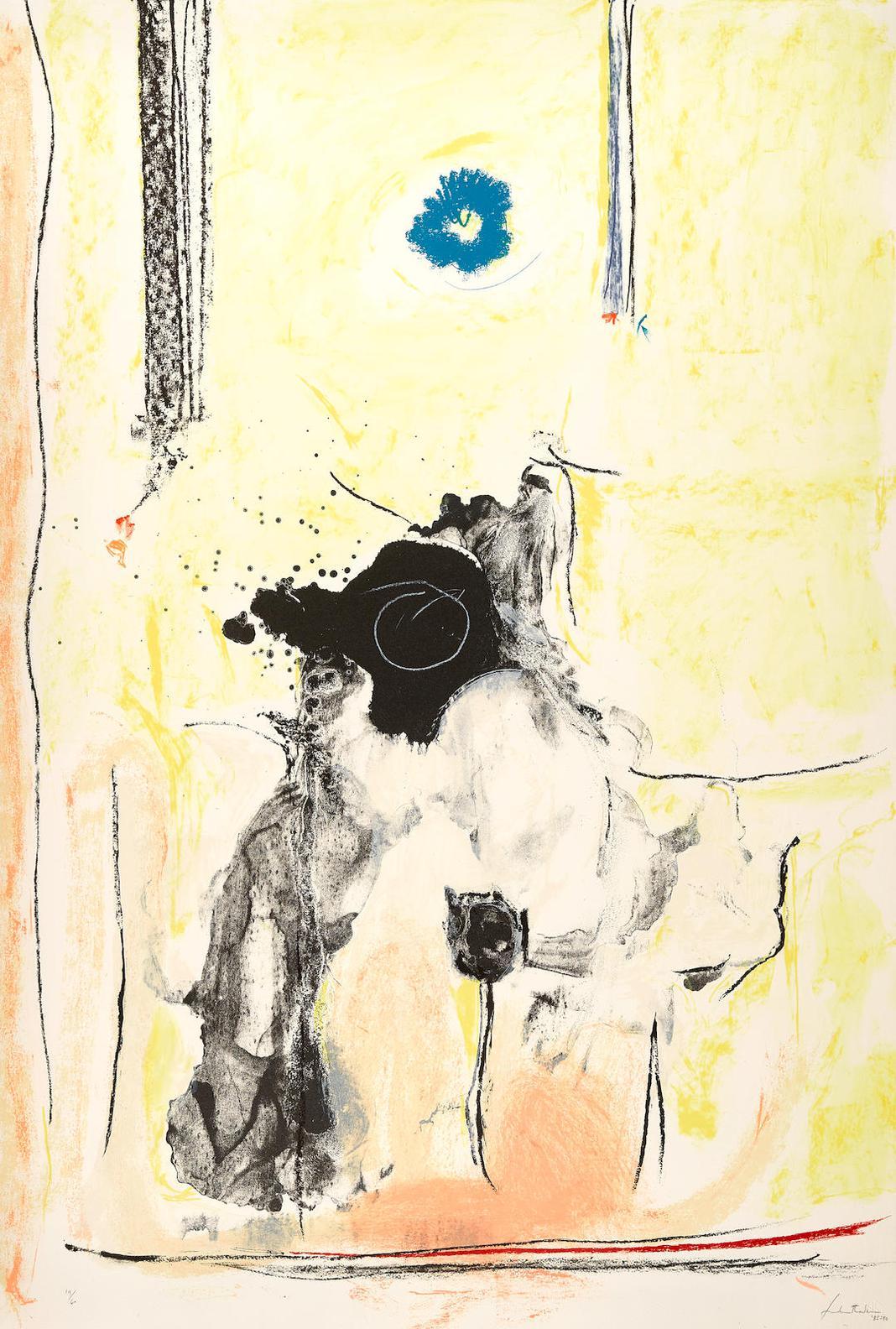 Helen Frankenthaler-Madame Pompadour (H. 170)-1990