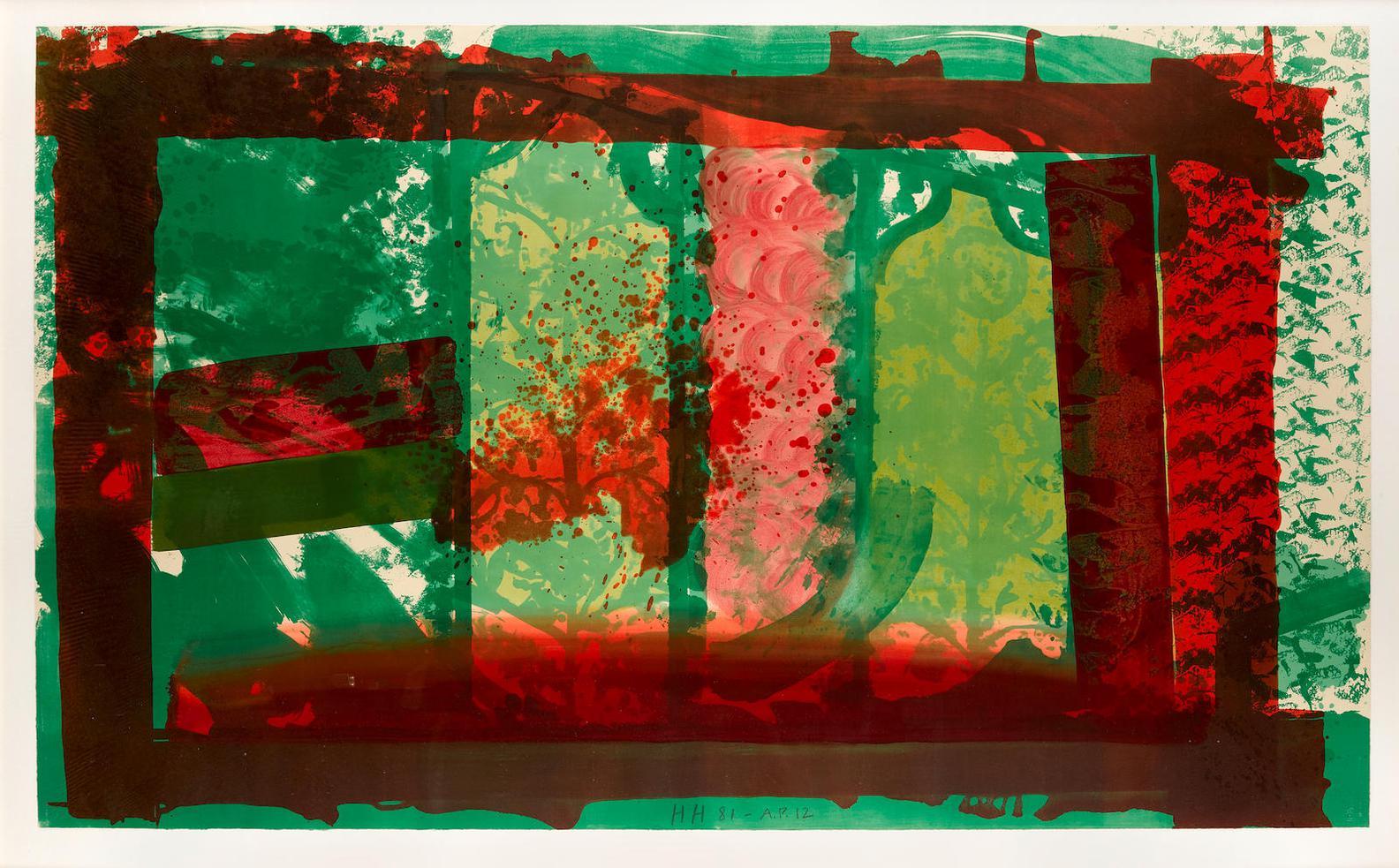 Howard Hodgkin-Bleeding (H. 67)-1982