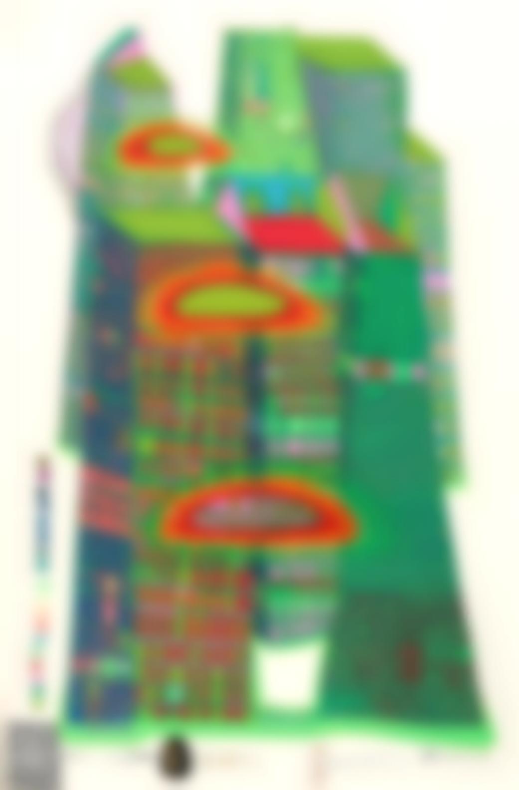 Friedensreich Hundertwasser-Good Morning City-Bleeding Town (K. 42)-1971