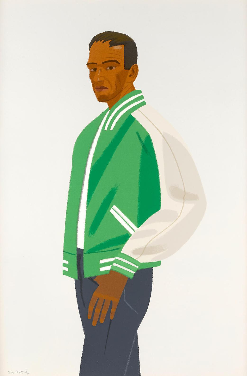 Alex Katz-Green Jacket-1990