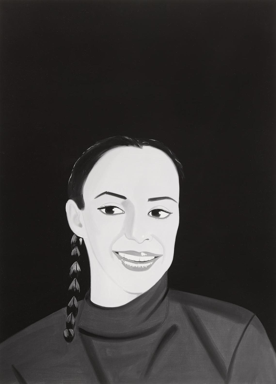 Alex Katz-Belinda, From Smiles Portfolio-2017
