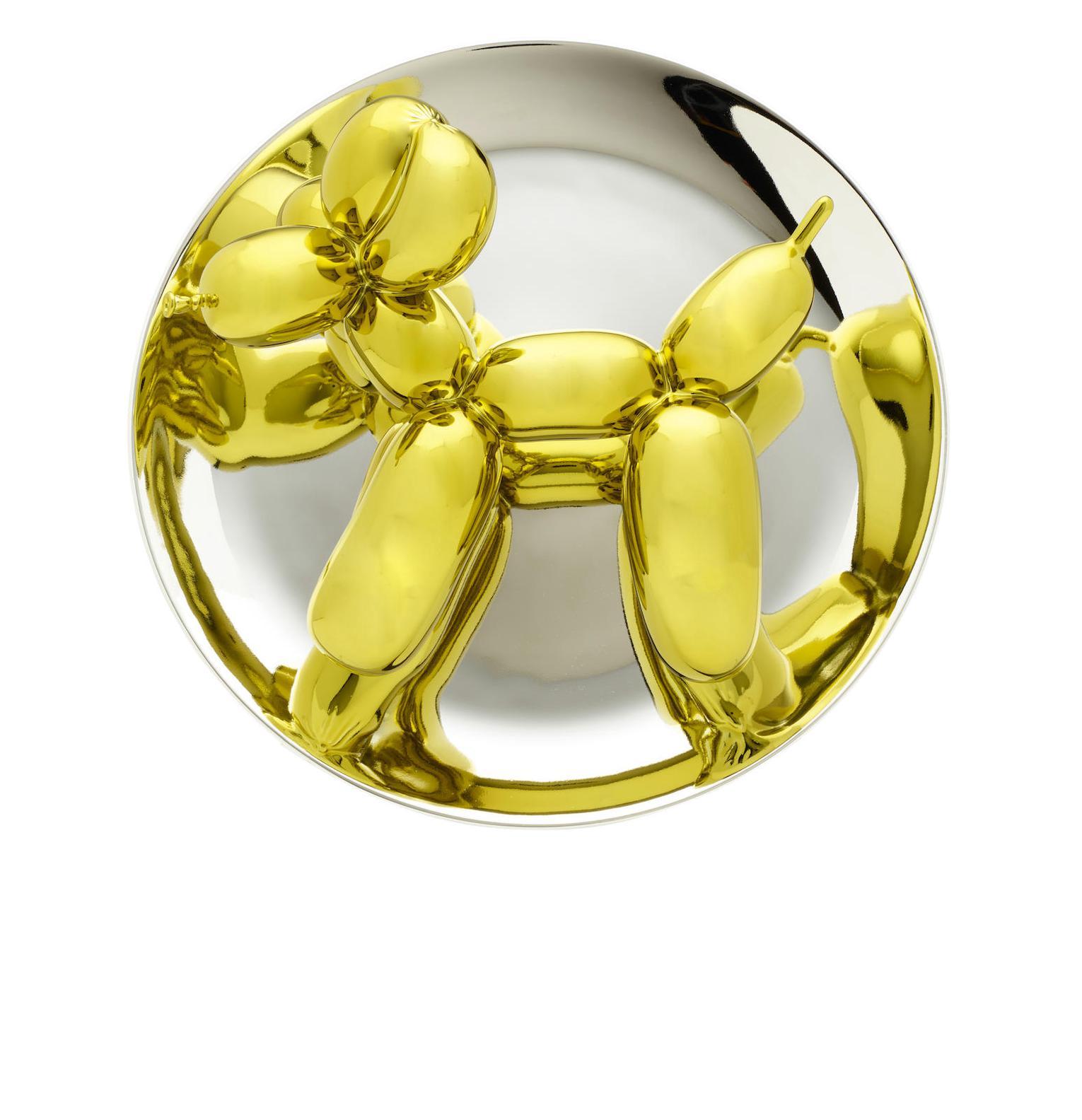 Jeff Koons-Balloon Dog Set Of Three (Yellow, Orange, Magenta)-2016