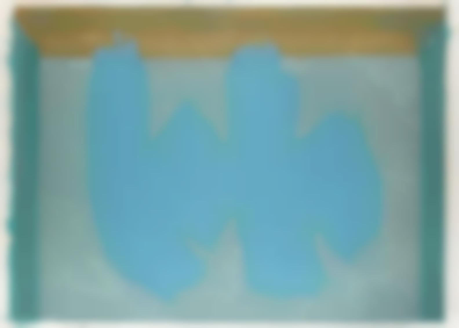 Robert Motherwell-Blue Elegy (B. 347, E.&B.; 379)-1987