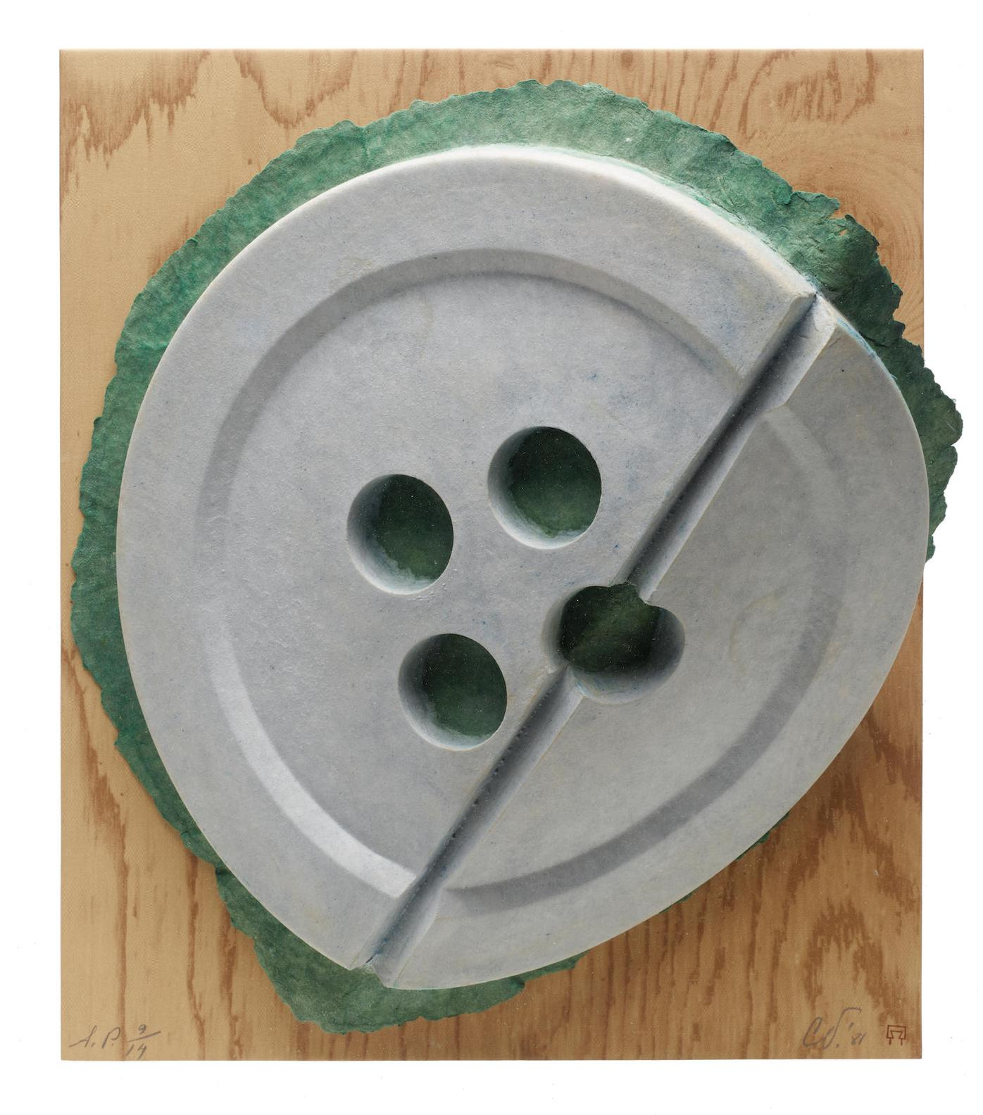 Claes Oldenburg-Broken Button (A.&P.; 175)-1981