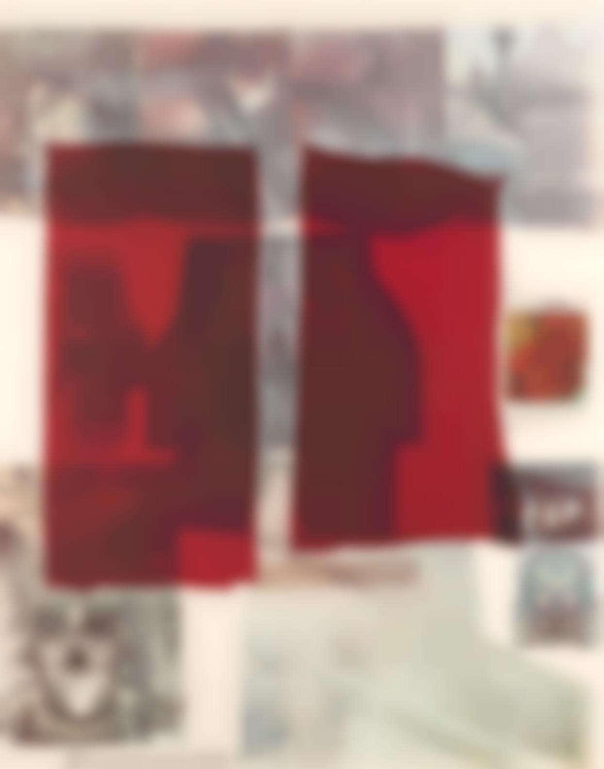Robert Rauschenberg-Why You Cant Tell #1, From The Suite Of Nine Prints-1979