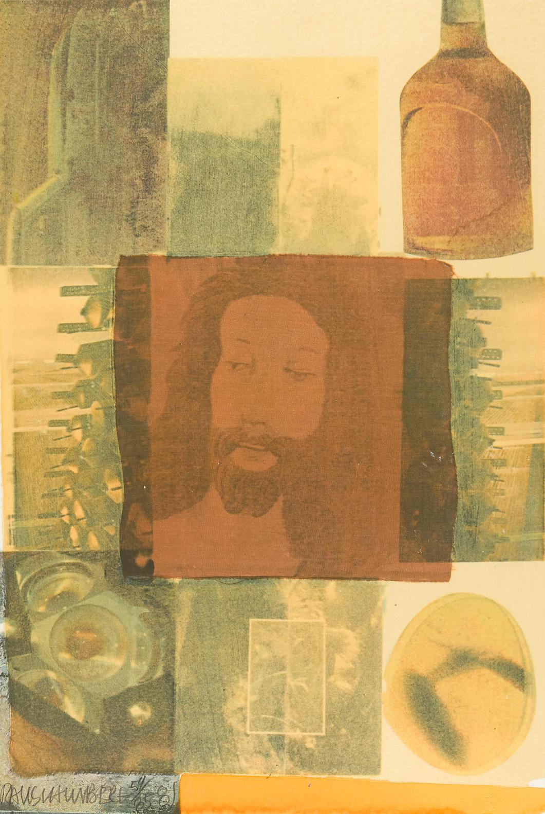 Robert Rauschenberg-Arcanum Vi, From Arcanum Series-1981